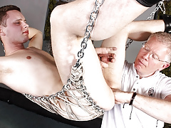 Fisted Impenetrable depths Together with Wanked Off! - Aiden Jason Together with Sebastian Kane